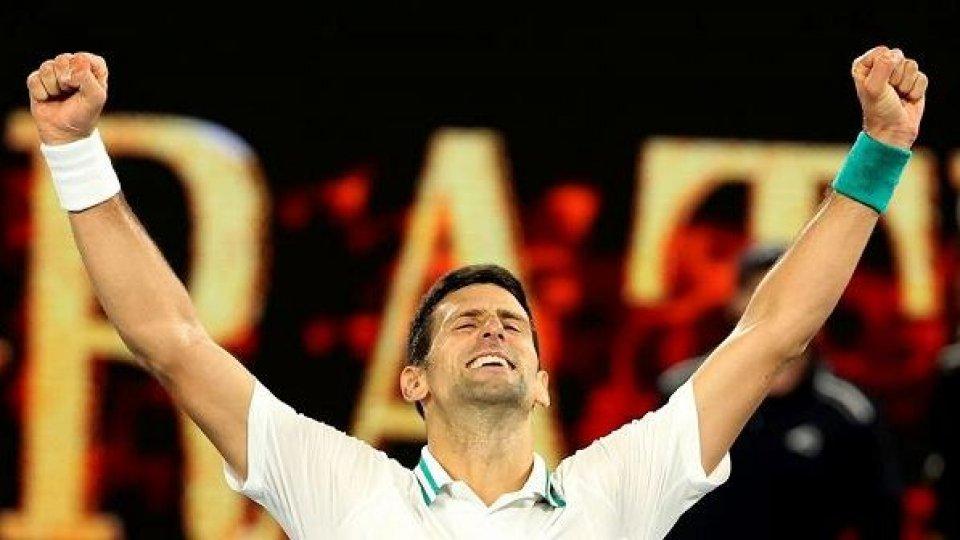 Novak Djokovic -  ph: @raisport