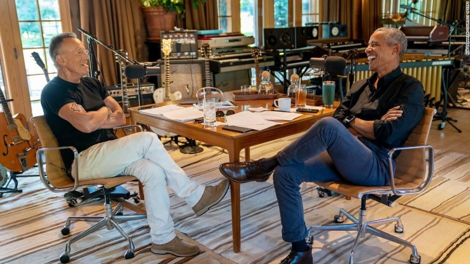 Il podcast di Bruce Springsteen e Barak Obama