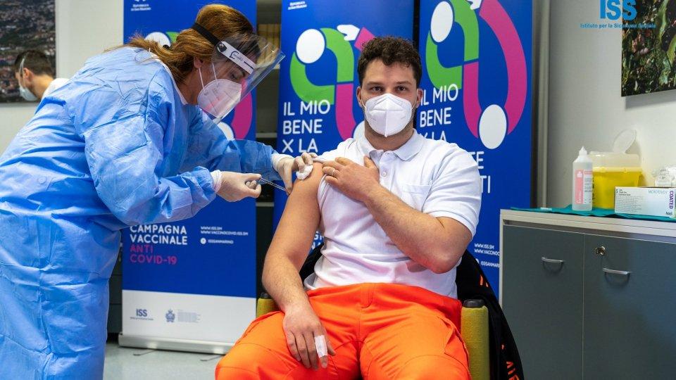 Primo giorno di vaccinazioni anti-COVID a San Marino