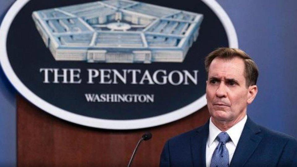 John Kirby, portavoce del Pentagono (Foto: rainews)