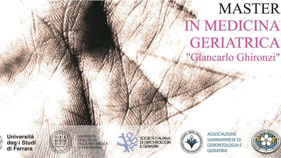 Inaugurato il Master in Medicina geriatrica: 18 i camici bianchi iscritti
