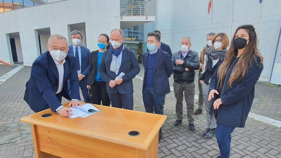 Provincia Rimini: Firmato il protocollo d'intesa per la mobilità e la viabilità della Valmarecchia