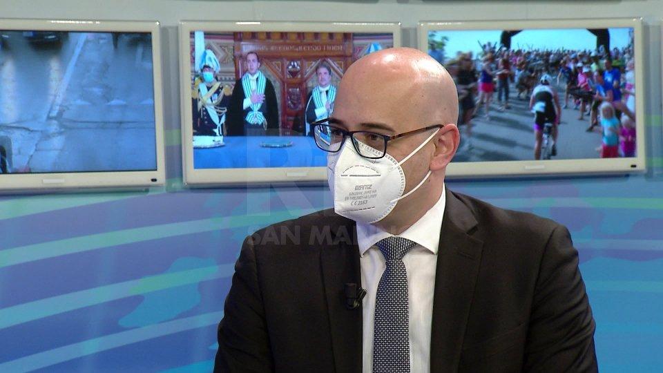 L'intervento del Segretario Roberto Ciavatta al TG San Marino