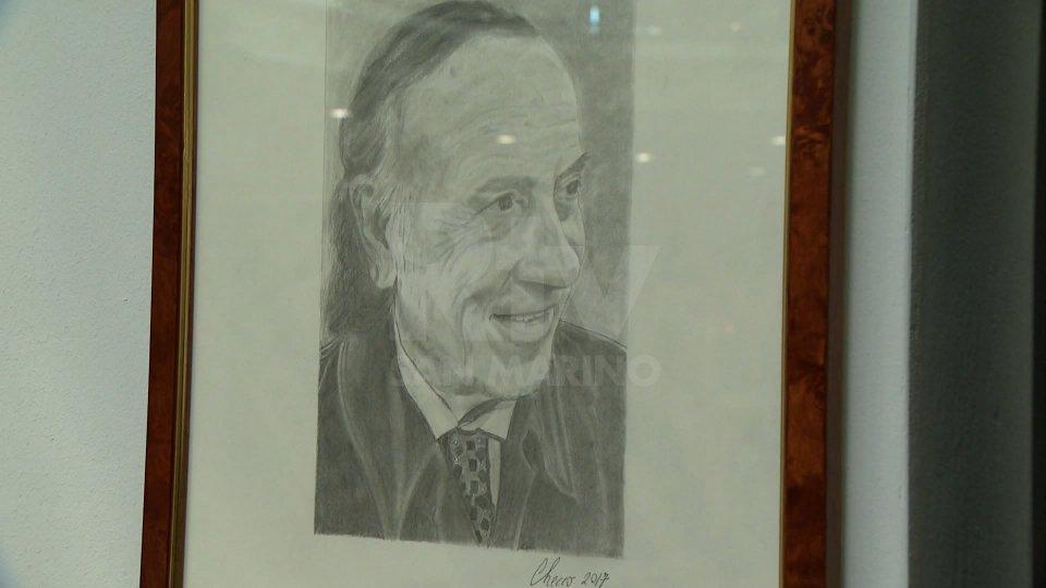 Nel video alcune immagini dei ritratti di Checco Guidi