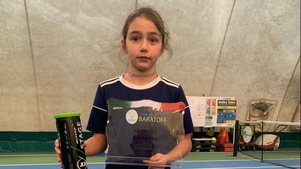 Serena Pellandra si aggiudica il torneo Under 10 al Baratoff di Pesaro. Silvia Alletti cede solo in finale nell'Under 14