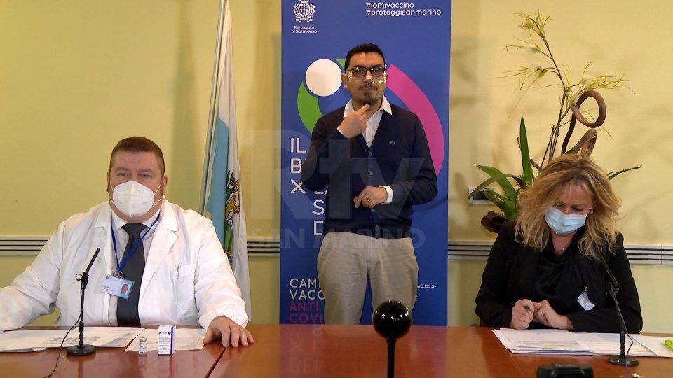 Il collegamento di Mauro Torresi al Tg San Marino
