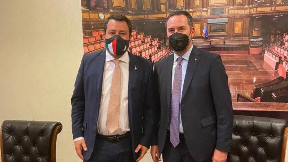 Vaccini, a Roma l'incontro tra una delegazione di governo sammarinese e Matteo Salvini