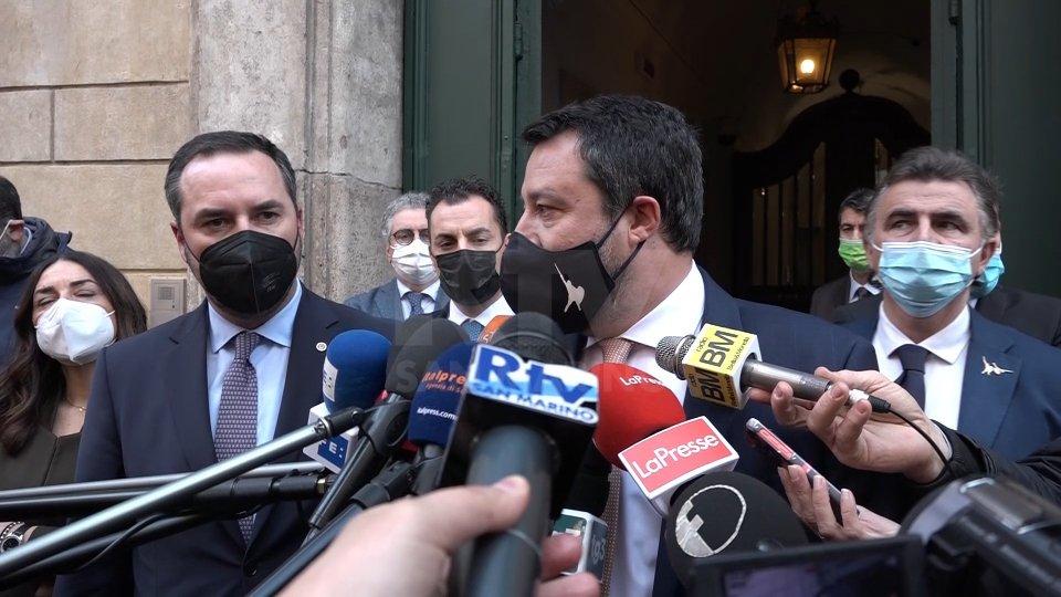 """Salvini su San Marino: """"da maggio cambia il mondo"""""""