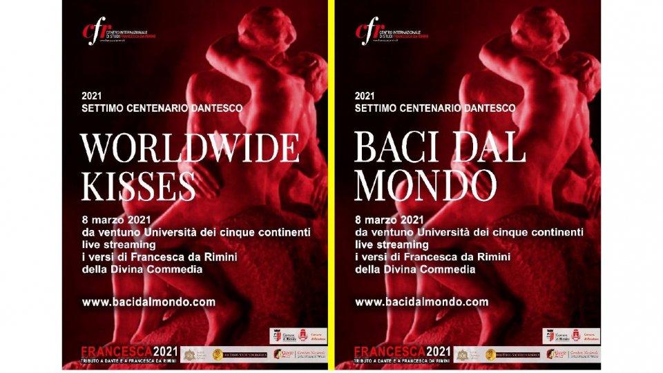 Baci dal Mondo: Flash mob ecumenico: tributo a Dante e a Francesca da Rimini nel VII centenario della morte del Poeta