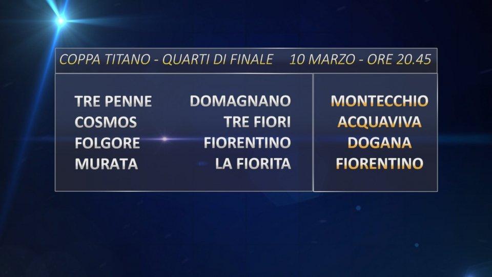 Coppa Titano: in campo le 4 sfide in contemporanea