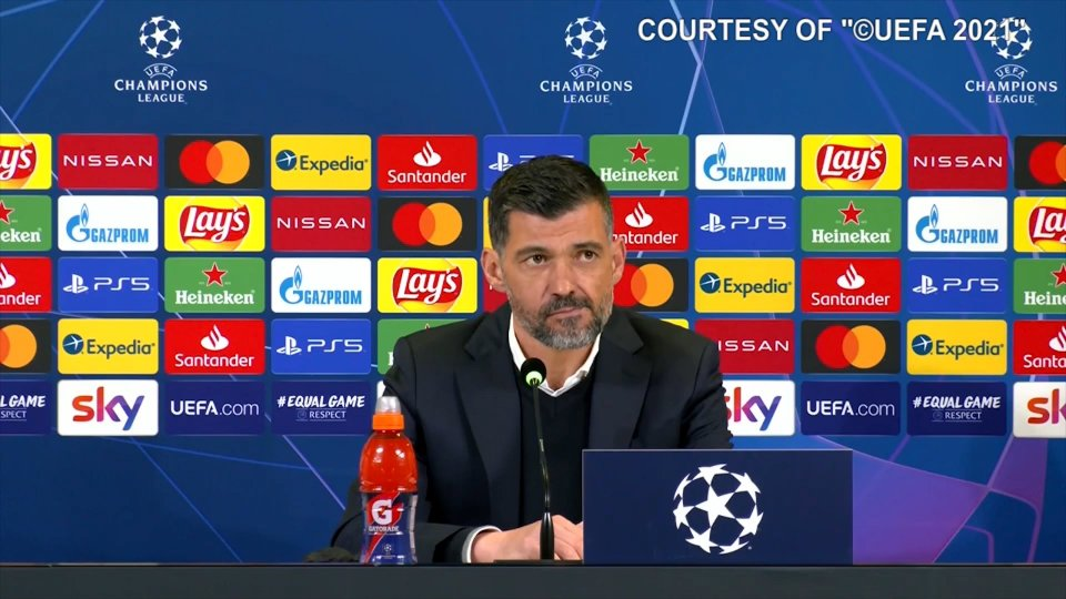Eliminazione Juve: nessuna domanda per il tecnico del Porto in conferenza stampa