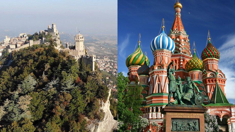 San Marino e Mosca