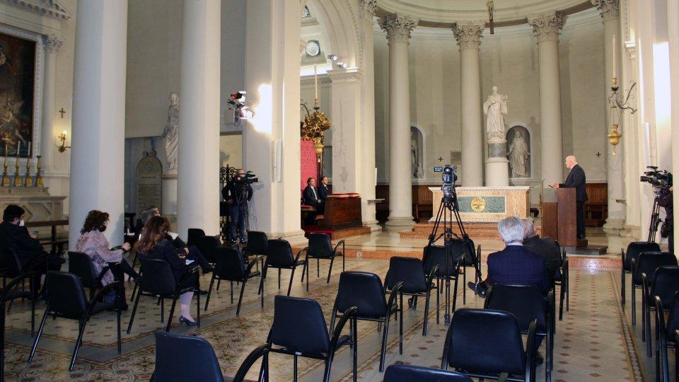 Segreteria Cultura: il fascino della Basilica del Santo fa da cornice al secondo incontro sulla storia e sull'identità della Repubblica di San Marino