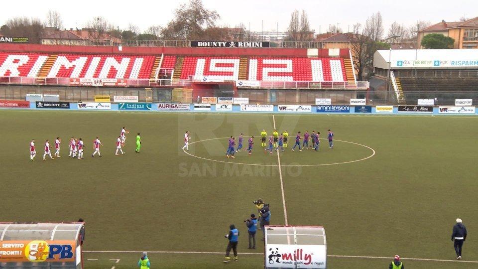 Rimini: 6 tamponi positivi, tre calciatori