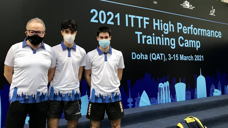 Tennis Tavolo: San Marino in Qatar per il torneo di qualificazione a Tokyo
