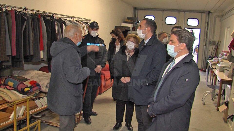 """Reggenza in visita alla Caritas, Ceccoli: """"Per le famiglie sammarinesi anche disagi psicologici"""""""