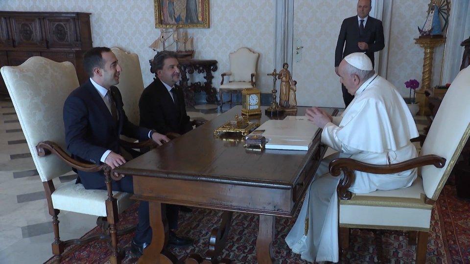La Reggenza ricevuta in Udienza da Papa Francesco