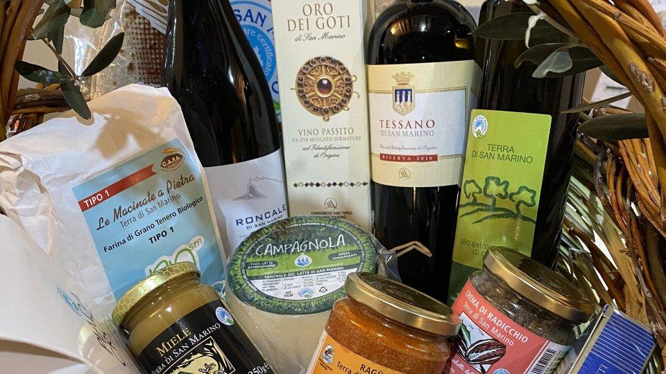A Papa Francesco anche un cesto di prodotti tipici. Ringraziamento da parte del Consorzio Terra di San Marino
