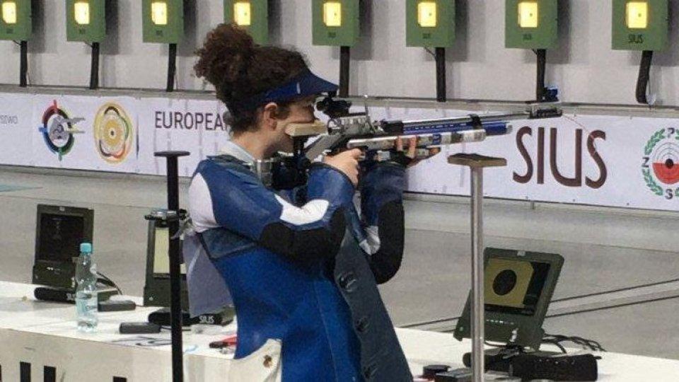 Tiro a segno: record sammarinese per Agata Alina Riccardi