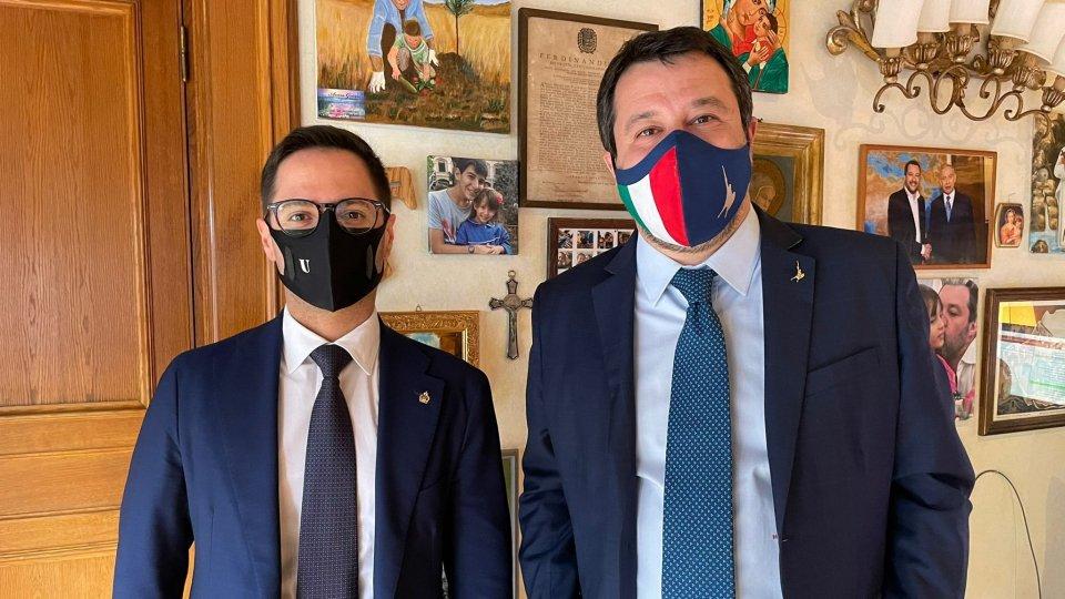 Vaccini: incontro a Roma tra Salvini e il Segretario Righi