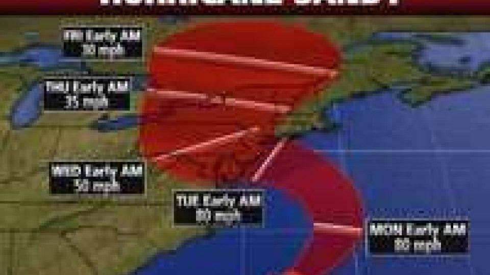 Uragano Sandy: New York si ferma