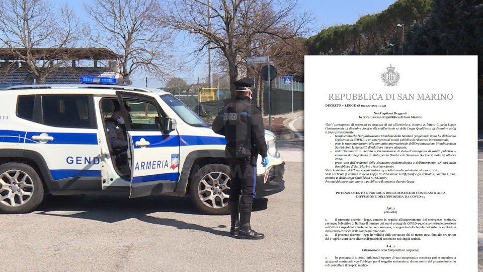 In vigore il decreto 52: parchi e piazze chiusi, controlli nei parcheggi