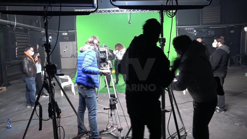 """Senhit in studio con """"Adrenalina"""": si registra nel caso in cui Eurovision non fosse in presenza"""