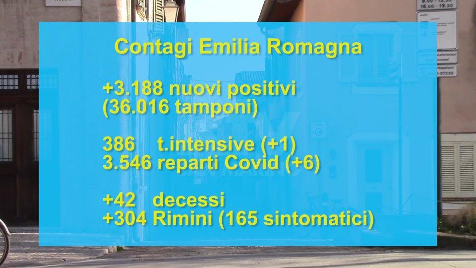 Tornano sopra tremila i contagi in Emilia Romagna