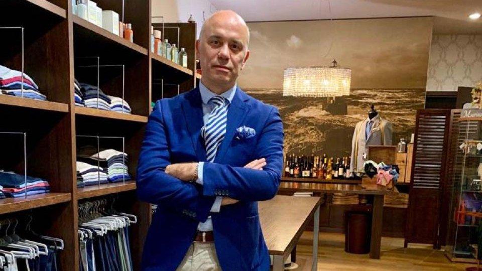 """Giammaria Zanzini, presidente Federmoda-Confcommercio della provincia di Rimini: """"Chiediamo di riaprire i nostri negozi prima di Pasqua"""""""