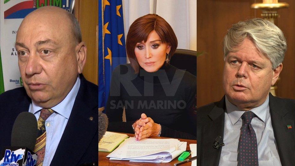 Antonio Barboni, Anna Maria Bernini e Enrico Aimi