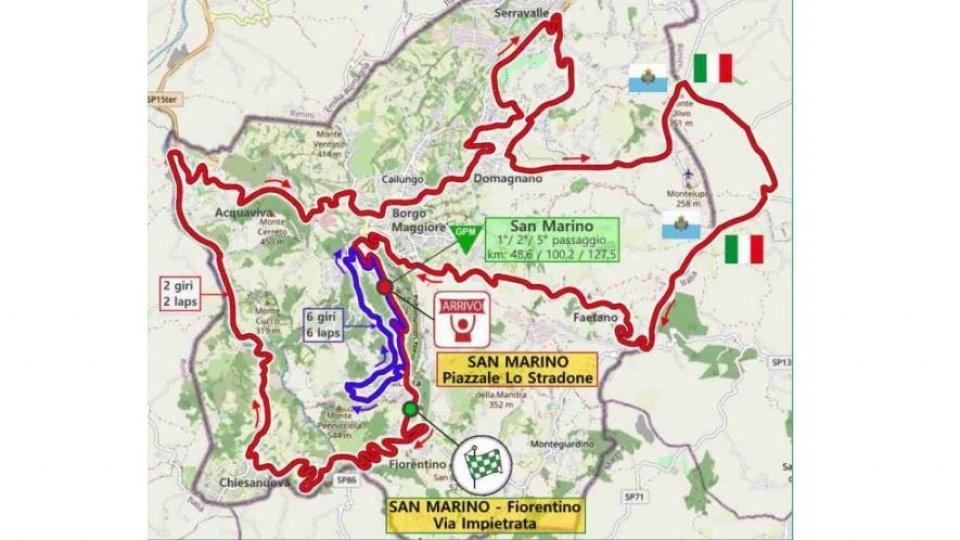 La Settimana Internazionale Coppi e Bartali arriva sul Titano