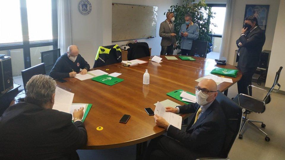 Siglata la convenzione fra C.I.S.A. (Consorzio Italiano Strade & Ambiente), Polizia Civile, Protezione Civile, A.A.S.L.P., A.A.S.S.