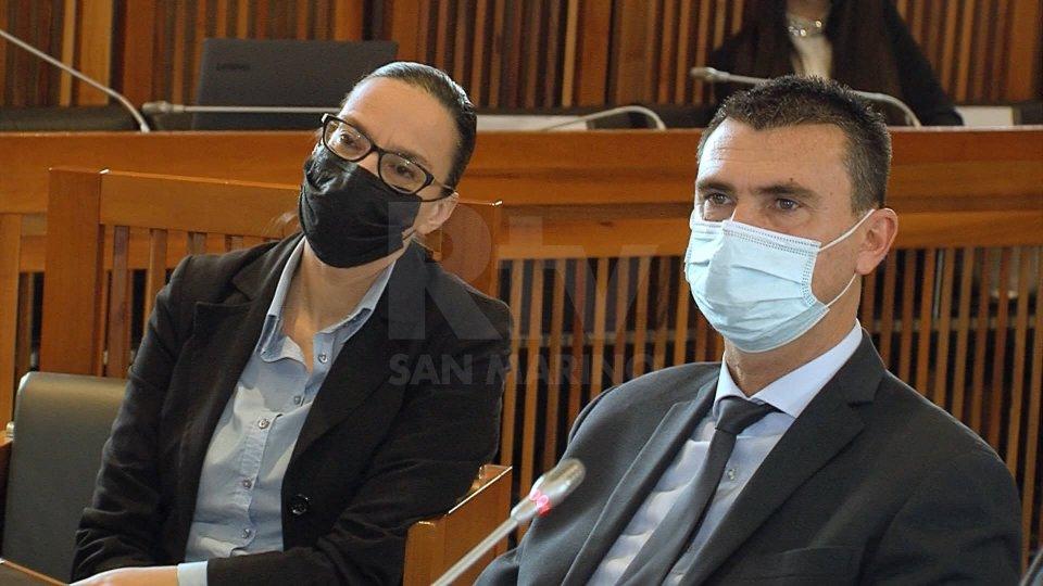 Grazia Zafferani e Alessandro Mancini
