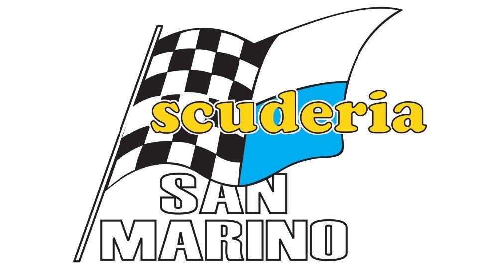 I portacolori della Scuderia San Marino al via del 12° Rally della Val d'Orcia e del 3° Rally Storico della Val d'Orcia