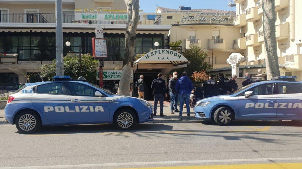 Sgomberato un hotel a Bellariva per motivi legati alla droga e per cittadini irregolari all'interno
