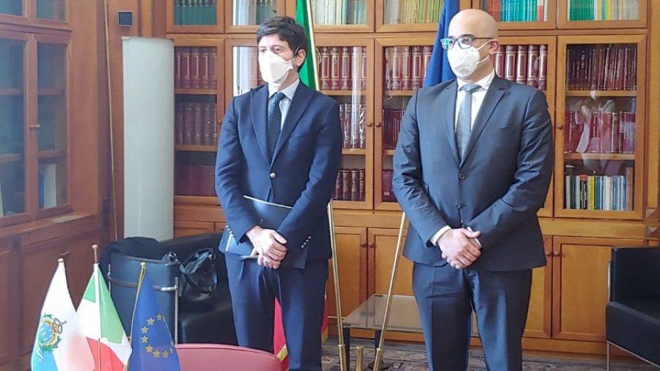 Roberto Ciavatta ha incontrato questa mattina a Roma il ministro della Salute Roberto Speranza