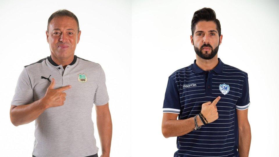 Gianpiero Piovani e Alain Conte @Figc