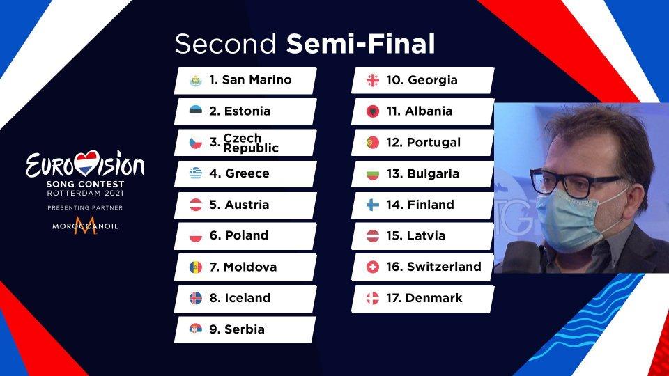 Eurovision: San Marino aprirà la serata. Non era mai successo prima