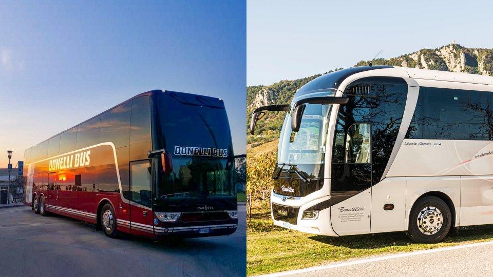"""Bonelli Bus e Fratelli Benedettini: linea internazionale """"Rimini – San Marino"""" sospesa fino a martedì 6 aprile"""