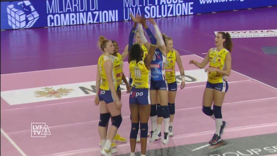 Play-Off Scudetto: Conegliano prima semifinalista