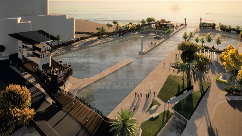 Il progetto del nuovo porto