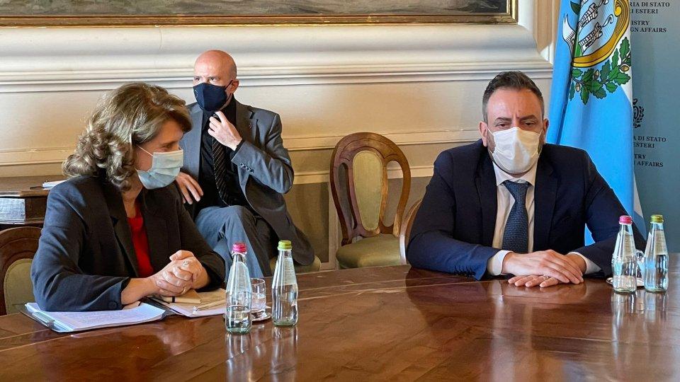 Bilaterali del Segretario di Stato Beccari: UE, Croazia, Qatar e Oratore  Ufficiale, Angelo Borrelli
