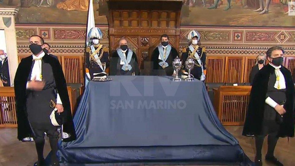Il Giorno della Reggenza: Gian Carlo Venturini e Marco Nicolini salgono alla Suprema Magistratura