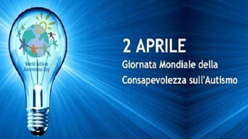 Il municipio di San Giovanni si tinge di blu per la giornata per la consapevolezza sull'autismo