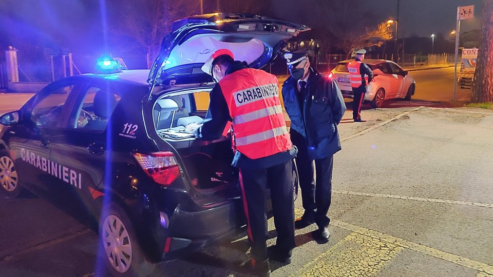 Controlli di Pasquetta a Rimini: 2 arresti e 10 sanzioni