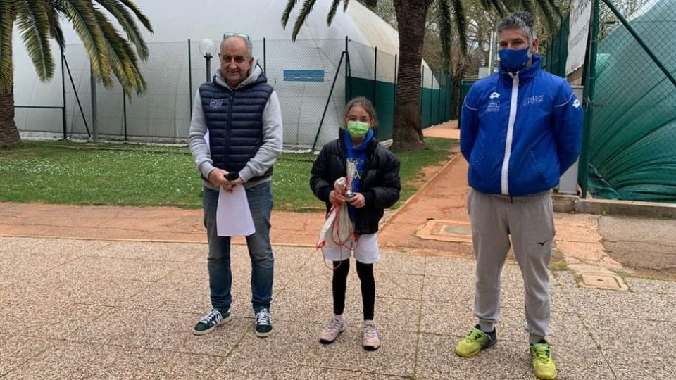 Under 10: Serena Pellandra trionfa a Senigallia