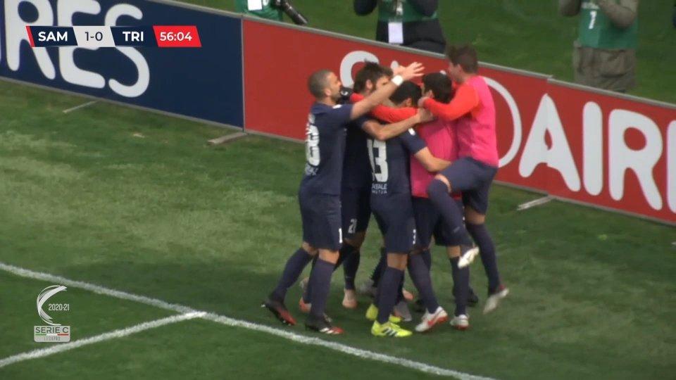 Triestina, ko dopo oltre due mesi: 1-0 Sambenedettese