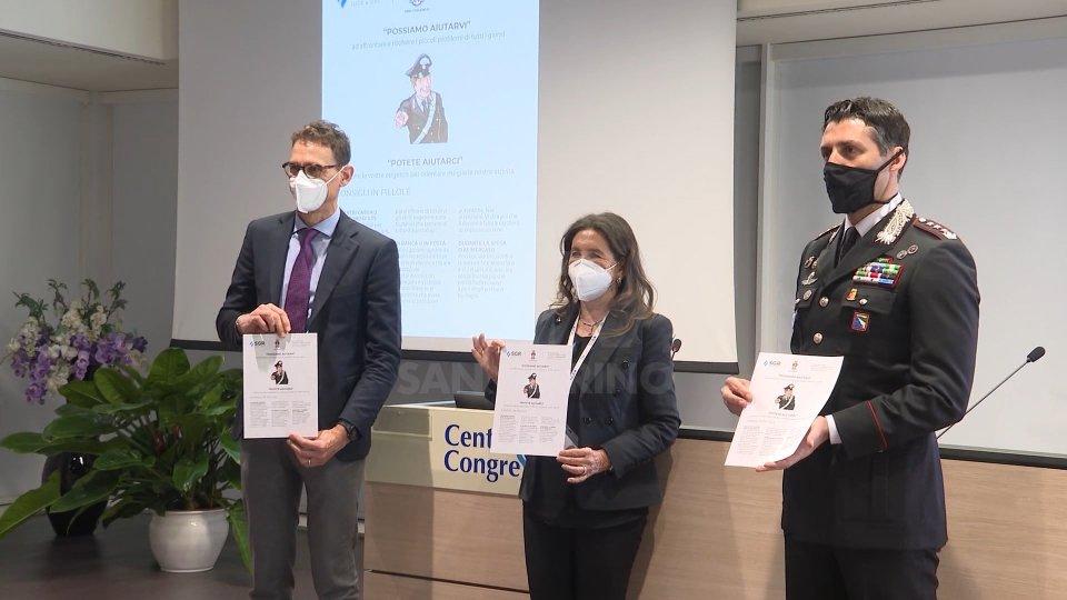Truffe e raggiri: comando provinciale Carabinieri e Gruppo Sgr realizzano un opuscolo per combatterle