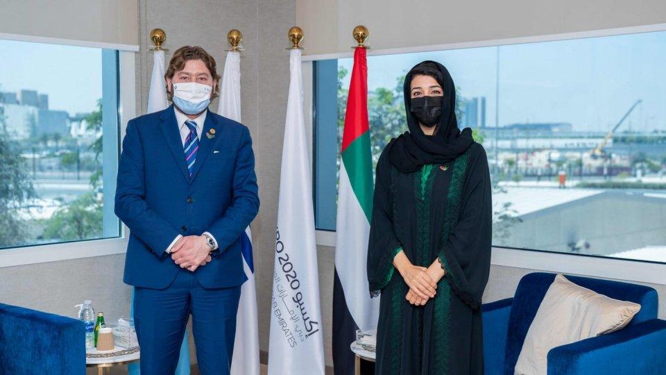 Dubai, Pedini Amati incontra S.E. Reem Al Hashimy