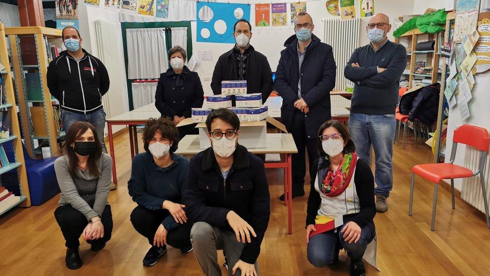 La Giunta di Montegiardino dona 1000 mascherine chirurgiche alla scuola elementare L'Olmo